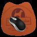 Mouse Pad Bean 16cm X 19cm espuma de 3mm e impressão digital - FRETE GRÁTIS