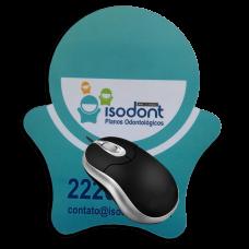 Mouse Pad personalizado pelo cliente (tamanho máx 18 cm X 21 cm) - FRETE GRÁTIS